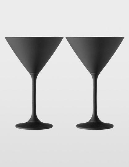 2pk Martini Glass
