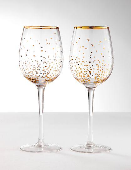 2pk Wine Glass