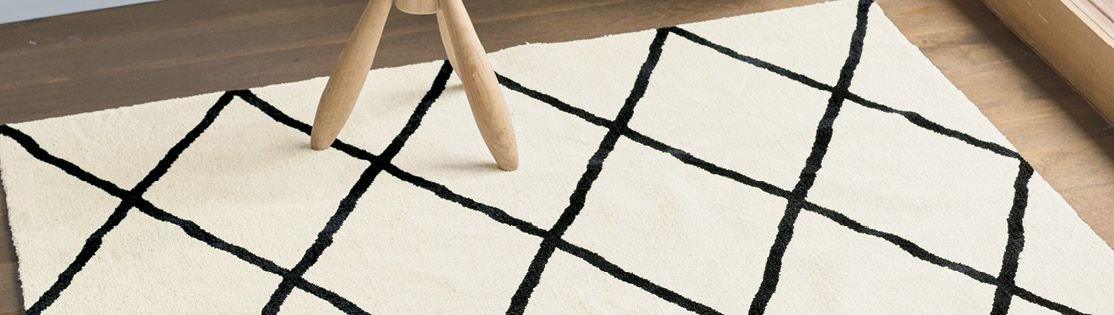 Using a rug creates sectioned outdoors spaces