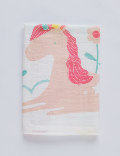 Milestone Muslin Blanket