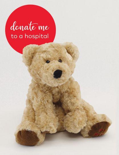 Donate PJ Bear Soft Toy