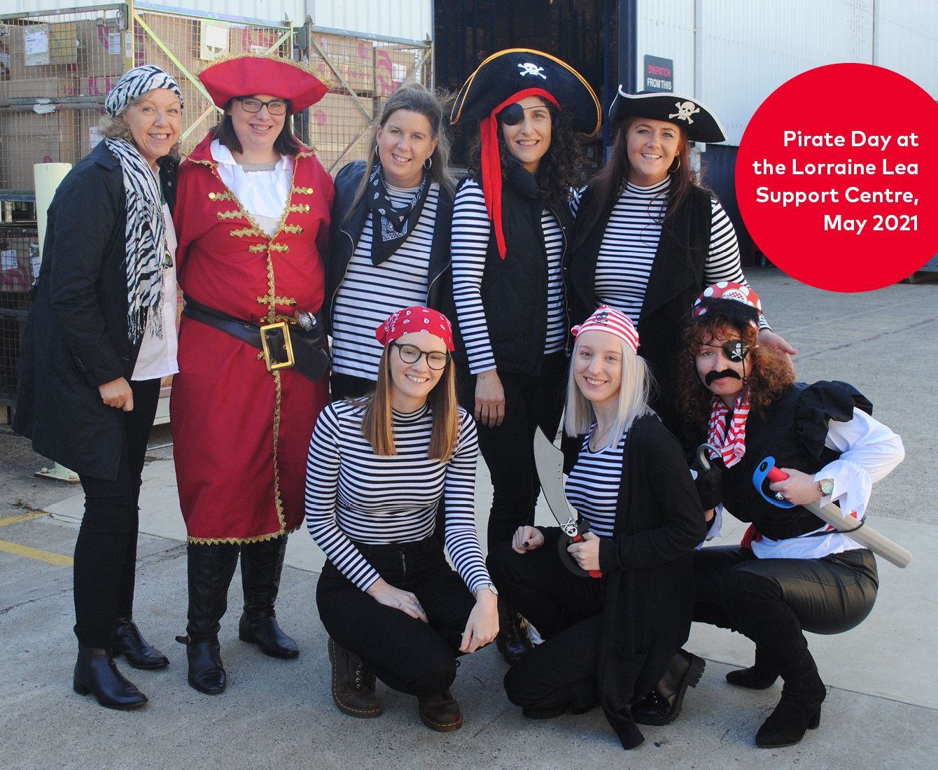 Pirate Day the Support Centre